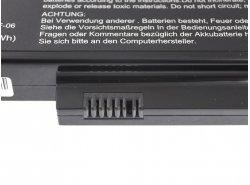Batteria Green Cell ® SDI-HFS-SS-22F-06 per Portatile Laptop Fujitsu-Siemens Esprimo Mobile V5515 V5535 V5555 V6515 V6555
