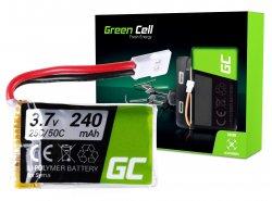 Batterie Green Cell ® für Sym S026 S026G S105 S107 S108 S108G S111 3.7V 240mAh
