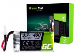 Batteria Green Cell ® per JJRC H31 3.7V 400mAh