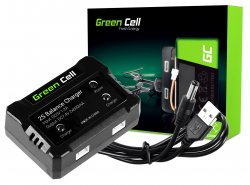Caricabatterie Green Cell ® per dron Syma Hubsan JJRC  7.4V