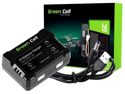 Caricabatterie Green Cell ® per dron Syma Hubsan JJRC  7.4V