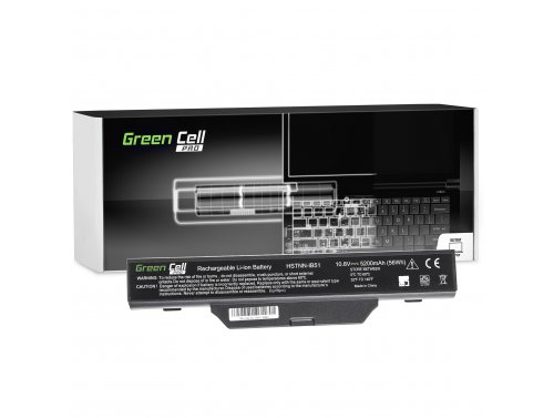 Batteria Green Cell ®  HSTNN-IB51 per Portatile Laptop HP 550 610 615 Compaq 550 610 615 6720 6830