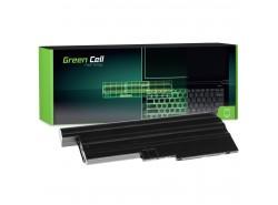 Green Cell Batteria 92P1138 92P1139 42T4504 42T4513 per Lenovo ThinkPad R60 R60e R61 R61e R61i R500 SL500 T60 T61 T500 W500