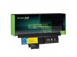 Batteria Green Cell ® 42T4657 per Portatile Laptop IBM Lenovo ThinkPad Tablet X200 X201