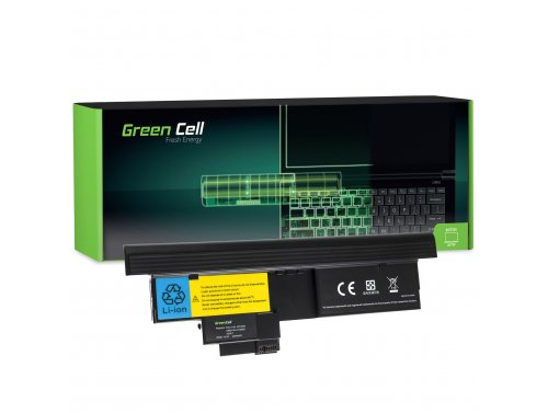 Batteria Green Cell ® 42T4657 per Portatile Laptop IBM Lenovo ThinkPad Tablet X200 X201