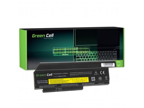 Green Cell ® Batteria 42T4940 42T4868 per Portatile Laptop Lenovo ThinkPad X220 X220i X220s 6600 mAh