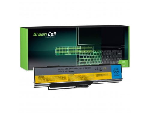 Batteria Green Cell ® 121SS080C BAHL00L6S per Portatile Laptop IBM Lenovo G400 G410