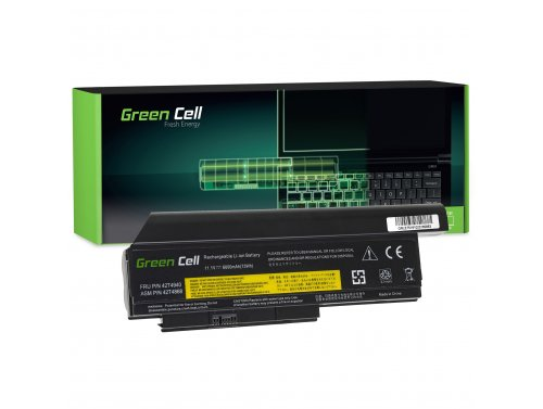 Green Cell ® Batteria 42T4861 42T4862 per Portatile Laptop Lenovo ThinkPad X230 X230i X220 X220i X220s