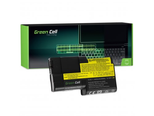 Batteria Green Cell ®  02K6626 02K6620 per Portatile Laptop IBM Lenovo ThinkPad T20 T21 T22 T23