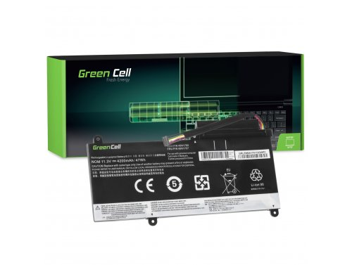 Green Cell ® Laptop Batteria 45N1756 45N175 per Lenovo ThinkPad E450 E450c E455 E460 E465