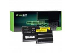 Batteria Green Cell ® 02K7072 02K7034 per Portatile Laptop IBM Lenovo ThinkPad T30