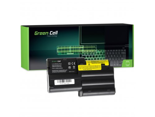 Batteria Green Cell ® 02K7072 02K7034 per Portatile Laptop IBM Lenovo ThinkPad T30