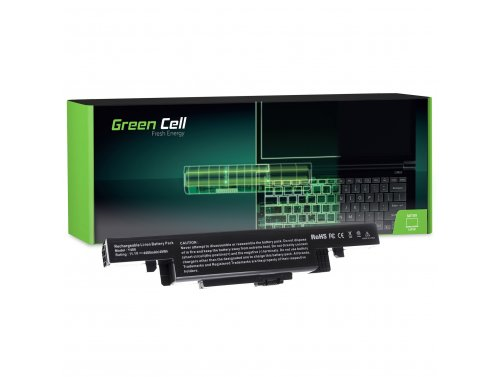 Green Cell ® Batteria per Portatile Laptop Lenovo IdeaPad Y400 Y410 Y490 Y500 Y510 Y590