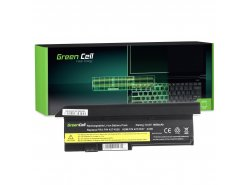 Batteria Green Cell ® 42T4650 per Portatile Laptop IBM Lenovo ThinkPad X200 X201 X201i