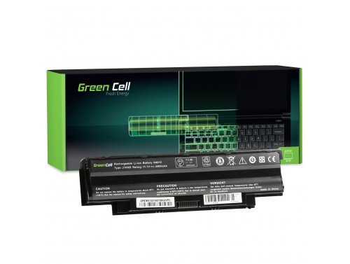 Green Cell Batteria J1KND per Dell Inspiron 15 N5030 15R M5110 N5010 N5110 17R N7010 N7110 Vostro 1440 3450 3550 3555 3750