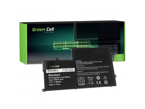 Green Cell ® Batteria TRHFF per Portatile Laptop Dell Inspiron 15 5542 5543 5545 5547 5548 Latitude 3450 3550
