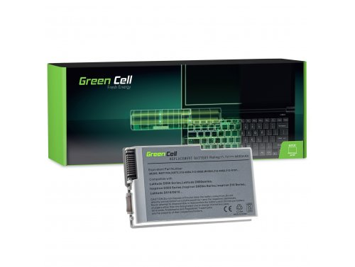 Batteria Green Cell ® C1295 per Portatile Laptop Dell Latitude D500 D505 D510 D520 D530 D600 D610
