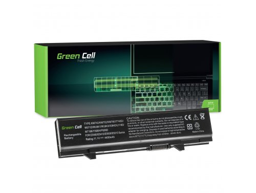 Batteria Green Cell ® KM742 KM668 per Portatile Laptop Dell Latitude E5400 E5410 E5500 E5510