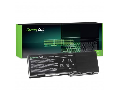 Batteria Green Cell ® GD761 per Portatile Laptop Dell Vostro 1000 Inspiron E1501 E1505 1501 6400 Latitude 131L