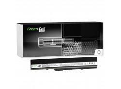 Green Cell PRO Batteria A32-K52 per Asus A52 A52F A52N K42 K52 K52D K52F K52J K52JB K52JC K52JE K52N X52 X52F X52J X52N