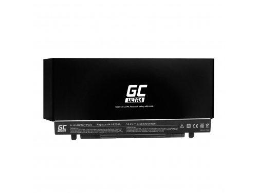 Green Cell ® Batteria Green Cell ULTRA A41-X550A per Portatile Laptop A450 A550 R510 R510CA X550 X550CA X550CC X550VC 3400mAh