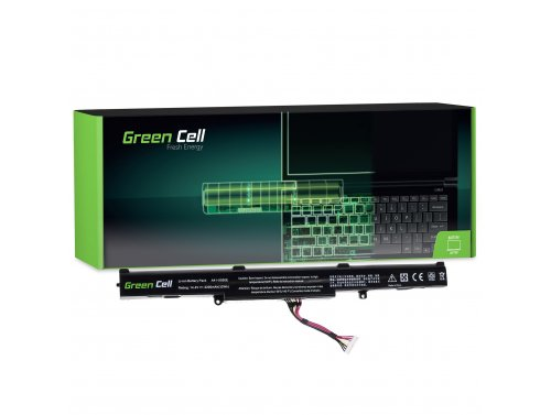 Green Cell ® Batteria A41-X550E per Portatile Laptop Asus F550 F750 K550 K750 R510 R750 X550 X750