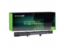 Batteria Green Cell ® A41N1308 A31N1319 per Portatile Laptop R508 R556LD R509 X551 X551C X551M X551CA X551MA X551MAV