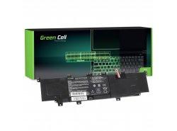 Green Cell ® Batteria C31-X402 per Portatile Laptop Asus VivoBook S300 S300C S300CA S400 S400C S400CA X402 X402C