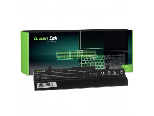 Batteria Green Cell ®  AL32-1005 per Portatile Laptop Asus Eee-PC 1001 1001P 1001PX 1001PXD 1001HA 1005 1005P 1005PE 1005H 1005H