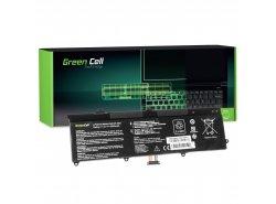 Green Cell Batteria C21-X202 per Asus X201 X201E F201E VivoBook F202E Q200E S200E X202 X202E