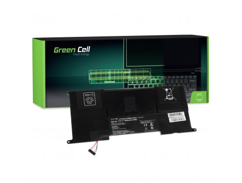 Green Cell ® Batteria C23-UX21 per Portatile Laptop Asus ZenBook UX21 UX21A UX21E