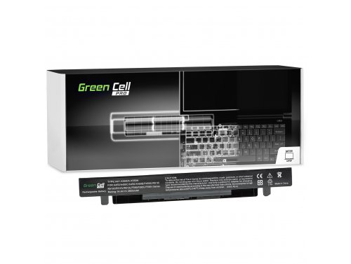 Green Cell ® Batteria Green Cell PRO A41-X550A per Portatile Laptop A450 A550 R510 R510CA X550 X550CA X550CC X550VC 2600mAh