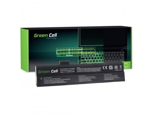 Batteria Green Cell ® 3S4400-G1P1-02 per Portatile Laptop GERICOM 3000 5000 7000 Blockbuster Excellent 3000 5000 UNIWILL 255 VEG