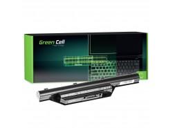 Green Cell ® Batteria FPCBP179 per Portatile Laptop Fujitsu-Siemens LifeBook S6510 S6520 S7210 S7220