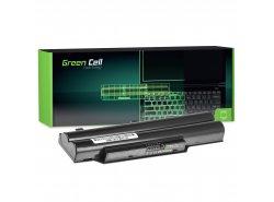 Batteria Green Cell ® FPCBP250 per Portatile Laptop Fujitsu LifeBook AH530 AH531 A530 A531
