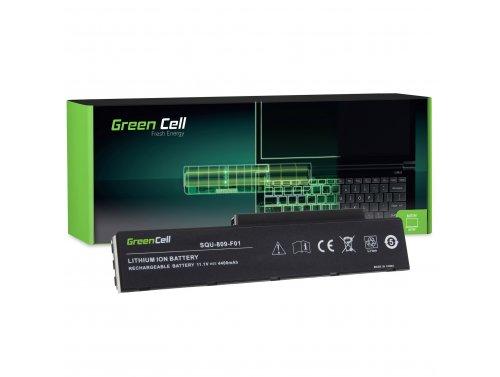 Batteria Green Cell ® 3UR18650-2-T0182 SQU-809-F01 per Portatile Laptop Fujitsu-Siemens Li3710 Li3910 Pi3560 Pi3660