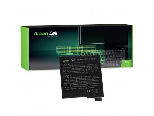 Batteria Green Cell ® 755-4S4000-S2S1 per Portatile Laptop Fujitsu-Siemens Amilo Uniwill Targa Visionary XP 210