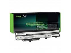 Green Cell Batteria BTY-S11 BTY-S12 per MSI Wind U90 U100 U110 U120 U130 U135 U135DX U200 U250 U270