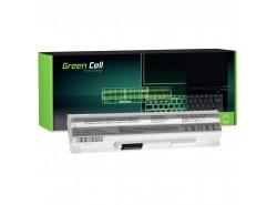 Green Cell Batteria BTY-S12 BTY-S11 per MSI Wind U100 U250 U270 U135DX MOUSE LuvBook U100 PROLINE U100 Roverbook Neo U100