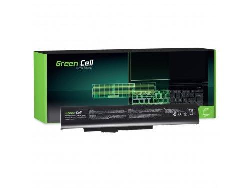 Batteria Green Cell ® A32-A15 A41-A15 per Portatile Laptop MSI A6400 CR640 CX640 MS-16Y1