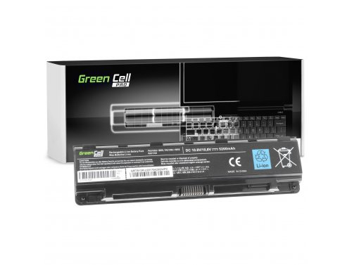 Green Cell ® PRO Batteria PA5109U-1BRS per Toshiba Satellite C50 C50D C55 C55D C70 C75 L70 P70 P75 S70 S75