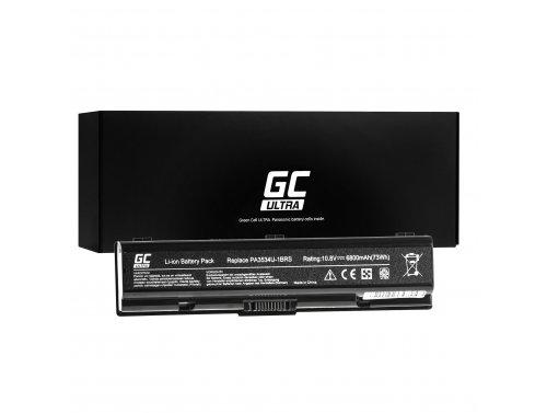 Green Cell ® Batteria Green Cell ULTRA PA3534U-1BRS per Portatile Laptop Toshiba Satellite A200 A300 A500 L200 L300 L500 6800mAh