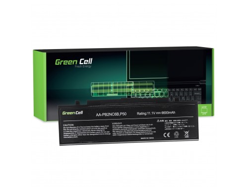 Green Cell Batteria AA-PB4NC6B AA-PB2NX6W per Samsung NP-P500 NP-R505 NP-R610 NP-SA11 NP-R510 NP-R700 NP-R560 NP-R509 NP-R7