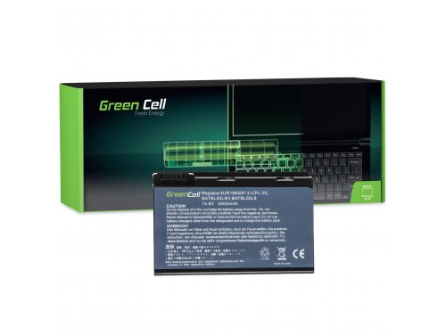 Batteria Green Cell ® BATBL50L6 per Portatile Laptop Acer Aspire 3100 3690 5010 5100 5610 5630