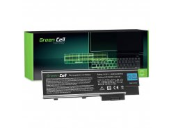 Batteria Green Cell ® SY6 SQU-401 per Portatile Laptop Acer TravelMate 2301WLMi 2313NL Aspire 1640 3000 3500 5000 Extensa 3000 6
