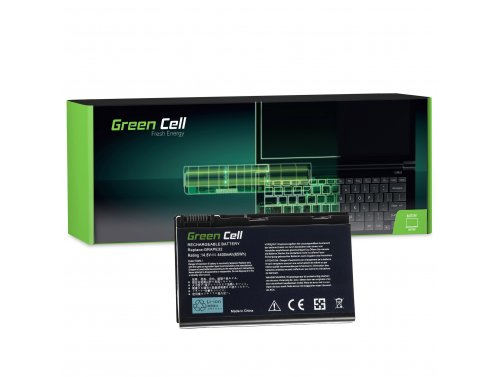 Batteria Green Cell ® GRAPE32 TM00741 TM00751 per Portatile Laptop Acer TravelMate 5220 5520 5720 7520 7720 Extensa 5100 5220 56