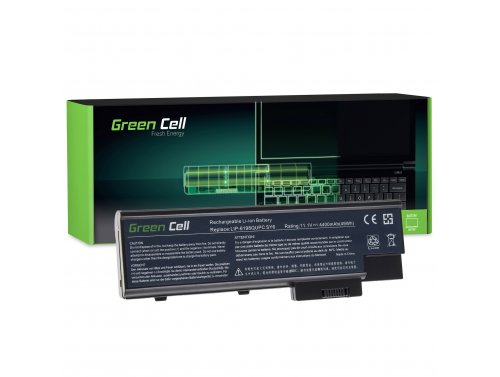 Batteria Green Cell ® LIP-6198QUPC LIP-8208QUPC per Portatile Laptop Acer Aspire 5620 7000 9300 9400 TravelMate 5100 5110 5610 5