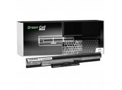 Green Cell PRO Batteria VGP-BPS35A VGP-BPS35 per Sony Vaio SVF15 SVF14 SVF1521C6EW SVF1521G6EW Fit 15E Fit 14E