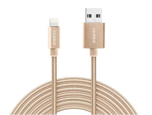 Kabel Draht Romoss Lightning Apple iPod iPhone iPad 1m