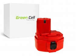 Batteria Green Cell ® per Makita 1420 1433 1434 4033D 4332D 6228D 6337D 14.4V 3Ah